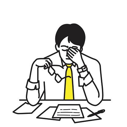 【VDT症候群】Visual Display Terminal Syndrome パソコンやスマホなどのディスプレイを使った長時間の作業が原因で、目や身体や心に影響のでる病気でIT眼症とも呼ばれます。